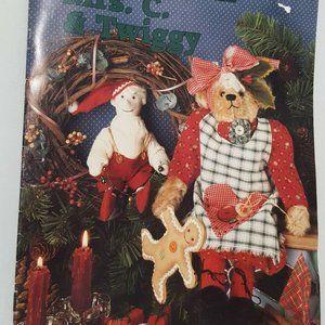Mrs C Twiggy Teddy Bear Pattern Leaflet Book